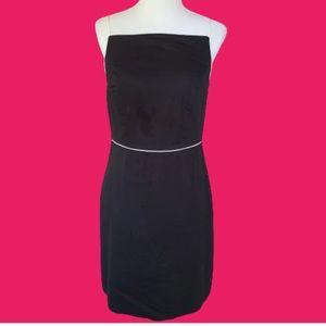 Moda International Sheath Dress Black & White Sz10